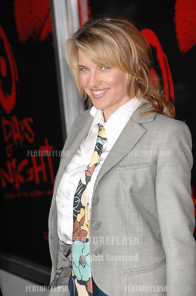 """Lucy Lawless at the premiere of """"30 Days of Night"""" at the Grauman's Chinese Theatre, Hollywood, CA..October 17, 2007  Los Angeles, CA.Picture: Paul Smith / Featureflash"""