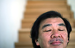 MANHATTAN, NY – MARCH 20: 2014 Pritzker Architecture Prize recipient Shigeru Ban poses for a portrait in Manhattan.<br /> <br /> Assignment ID: 30155525A