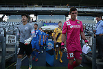 Central Coast Mariners vs Guangzhou R&F during the 2015 AFC Champions League Play off match on February 17, 2015 at the Central Coast  Stadium in Gosford, Australia. Photo by Stringer / World Sport Group