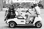 ARTURO GATTI (3/12) --Arturo Gatti smiles for an HBO cameraman who strategically placed himself on the dash of his golf cart as Gatti plays a Sunday morning round of golf at Sand Ridge in Vero Beach, FL.   (4/17/05)  VERO BEACH, FL
