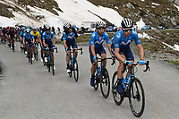 5th June 2021; La Plagne, Tarentaise, France;  ERVITI Imanol (ESP) of MOVISTAR TEAM in action during stage 7 of the 73th edition of the 2021 Criterium du Dauphine Libere cycling race, a stage of 171km with start in Saint-Martin-Le-Vinoux and finish in La Plagne