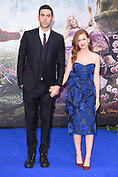 "Sacha Baron Cohen and wife, Isla Fisher<br /> at the premiere of ""Alice Through the Looking Glass"" held at the Odeon Leicester Square, London<br /> <br /> <br /> ©Ash Knotek  D3117  10/05/2016"