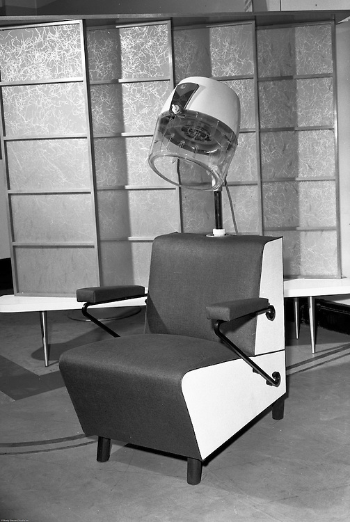 Client:  Edlis Company Inc.<br /> Ad Agency: None / Edlis<br /> Contact: Mr. Cohen<br /> Product:  Salon Beauty Chair and Dryer<br /> Location: Edlis Company 329 Blvd of the Allies<br /> <br /> Studio photography of Beauty chair and dryer for Edlis. Edlis is a beauty and barber distributor in the Pittsburgh area. They have been in business for over 100 years. They supply locally, nationally, and throughout the world