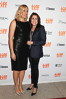 DIRECTOR MICHELLE SINCLAIR AND HER MOTHER CAMELIA KATH - RED CARPET OF THE FILM 'THE TERRY KATH EXPERIENCE' - 41ST TORONTO INTERNATIONAL FILM FESTIVAL 2016 . 15/09/2016. # FESTIVAL INTERNATIONAL DU FILM DE TORONTO 2016