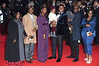 "John Boyega<br /> arriving for the ""Star Wars: The Last Jedi"" film premiere at the Royal Albert Hall, London.<br /> <br /> <br /> ©Ash Knotek  D3363  12/12/2017"