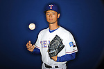 Texas Rangers Yu Darvish (11) at media photo day during spring training on February 20, 2013 in Surprise, AZ