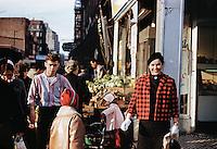 People at market, NY