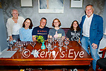 John Hobson from Abbeyfeale celebrating his 50th birthday in Allo's Restaurant in Listowel on Friday, l to r: Merce, Ruth, John, Anna, Jane and Denis Hobson.