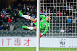 FC Hanoi Goalkeeper Tran Anh Duc in action during the AFC Champions League 2017 Preliminary Stage match between  Kitchee SC (HKG) vs Hanoi FC (VIE) at the Hong Kong Stadium on 25 January 2017 in Hong Kong, Hong Kong. Photo by Marcio Rodrigo Machado/Power Sport Images