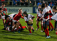 Friday 29th November 2019 | Ulster Rugby vs Scarlets<br /> <br /> Halftime Mini-Rugby during the PRO14 clash between Ulster Rugby and the Scarlets at Kingspan Stadium, Ravenhill Park, Belfast, Northern Ireland. Photo credit - John Dickson DICKSONDIGITAL