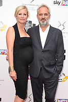Alison Balsom and Sam Mendes<br /> at the South Bank Sky Arts Awards 2017, Savoy Hotel, London. <br /> <br /> <br /> ©Ash Knotek  D3288  09/07/2017