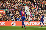 FC Barcelona's Gerard Pique , Real Madrid's Cristiano Ronaldo during spanish La Liga match between Futbol Club Barcelona and Real Madrid  at Camp Nou Stadium in Barcelona , Spain. Decembe r03, 2016. (ALTERPHOTOS/Rodrigo Jimenez)