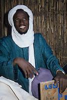 Niamey, Niger - Tuareg Man, Veil.