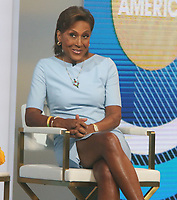 NEW YORK, NY - MAY 3: Robin Roberts on the set of Good Morning America in New York City on May 03, 2021. Credit: RW/MediaPunch