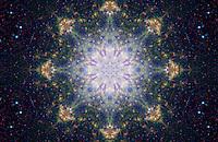 Space Mandala - Dancing Stars -1