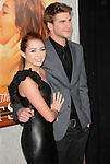 Miley Cyrus & Liam Hemsworth at the Touchstone Pictures' World Premiere of The Last Song held at The Arclight  in Hollywood, California on March 25,2010                                                                   Copyright 2010  DVS / RockinExposures