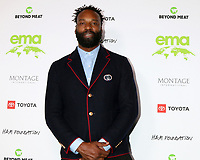 LOS ANGELES - OCT 16:  Baron Davis at the Environmental Media Association Awards at GEARBOX LA on October 16, 2021 in Van Nuys, CA
