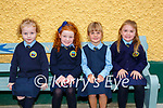 Junior Certs making new friends in Loughquittane NS Killarney on Wednesday Holly Moriarty, Ellie O'Donoghue, Clodagh Walsh and  Lauren Kelly