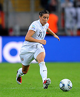 Alex Krieger of team USA during the FIFA Women's World Cup Final USA against Japan at the FIFA Stadium in Frankfurt, Germany on July 17th, 2011.