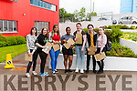 Pupils of Coláiste Ide agus Iosef Abbeyfeale receive their Leaving Cert. results. L-R Danielle Hayes, Izadora Teixeira, Fidlia Igbinigie, Amy O' Sullivan, Alex Collins, Katarzyna Waniek.