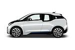 Car Driver side profile view of a 2017 BMW I3 Deka-World 5 Door Hatchback Side View