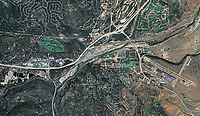 historical aerial photo map of Truckee, 2005