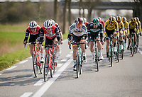 tearing the field up into echelons<br /> <br /> 81st Gent-Wevelgem 'in Flanders Fields' 2019<br /> One day race (1.UWT) from Deinze to Wevelgem (BEL/251km)<br /> <br /> ©kramon