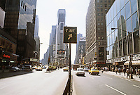 New York City: Times Square--looking south. Photo '91.