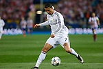 Real Madrid´s Cristiano Ronaldo during quarterfinal first leg Champions League soccer match at Vicente Calderon stadium in Madrid, Spain. April 14, 2015. (ALTERPHOTOS/Victor Blanco)