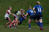 Sunday 3rd December 2017; Ulster Women vs Leinster Women<br /> <br /> Eliza Downey during the Women's Inter-Pro between Ulster and Leinster at Dromore RFC, Barbon Hill, Dromore, County Down, Northern Ireland. Photo by John Dickson / DICKSONDIGITAL