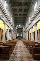 L'interno del Duomo di Mantova.<br /> Interior view of the Cathedral of Mantua.<br /> UPDATE IMAGES PRESS/Riccardo De Luca