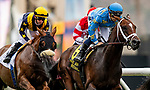 JULY 24, 2021: Smooth Like Strait with Umberto Rispoli sits off of Award Winner and JJ Hernandez in the early running of  the Eddie Read Stakes at the Del Mar Fairgrounds in Del Mar, California on July 24, 2021. Evers/Eclipse Sportswire/CSM