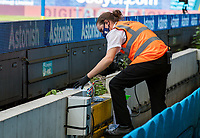 A member of the Leeds United team cleans a ball before throwing back onto the field<br /> <br /> Photographer Alex Dodd/CameraSport<br /> <br /> The EFL Sky Bet Championship - Leeds United v Fulham - Wednesday 24th June 2020 - Elland Road - Leeds<br /> <br /> World Copyright © 2020 CameraSport. All rights reserved. 43 Linden Ave. Countesthorpe. Leicester. England. LE8 5PG - Tel: +44 (0) 116 277 4147 - admin@camerasport.com - www.camerasport.com<br /> <br /> Photographer Alex Dodd/CameraSport<br /> <br /> The Premier League - Newcastle United v Aston Villa - Wednesday 24th June 2020 - St James' Park - Newcastle <br /> <br /> World Copyright © 2020 CameraSport. All rights reserved. 43 Linden Ave. Countesthorpe. Leicester. England. LE8 5PG - Tel: +44 (0) 116 277 4147 - admin@camerasport.com - www.camerasport.com