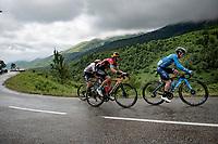 Miguel Angel Lopez (COL/Movistar)<br /> <br /> Stage 16 from El Pas de la Casa to Saint-Gaudens (169km)<br /> 108th Tour de France 2021 (2.UWT)<br /> <br /> ©kramon