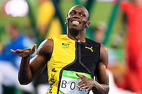 BOLT Usain JAM Gold Medal Men's 100 meters<br /> Rio de Janeiro 14-08-2016 Olympic Stadium <br /> Atletica Leggera - Track and Fields <br /> Foto Andrea Staccioli / Insidefoto