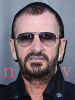 WEST HOLLYWOOD, CA, USA - SEPTEMBER 21: Ringo Starr arrives at the John Varvatos #PeaceRocks Ringo Starr Private Concert held at the John Varvatos Boutique on September 21, 2014 in West Hollywood, California, United States. (Photo by Xavier Collin/Celebrity Monitor)