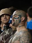 Tottenham Hotspur 0 Lazio 0, 20/09/2012. White Hart Lane, Europa League. A heavily tattooed Lazio supporter. Photo by Simon Gill.