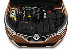 Car Stock 2020 Renault Megane Edition-One 5 Door Hatchback Engine  high angle detail view