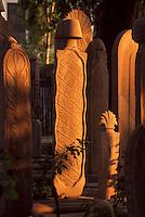 Friedhof der Sueleymanye Camii (Moschee) in Istanbul, erbaut 1550/1557 von SinanTürkei, Unesco-Weltkulturerbe