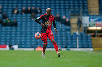 BLACKBURN, ENGLAND - JANUARY 24:  Dwight Tiendalli of Swansea City  during the FA Cup Fourth Round match between Blackburn Rovers and Swansea City at Ewood park on January 24, 2015 in Blackburn, England.  (Photo by Athena Pictures/Getty Images)