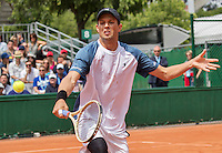Paris, France, 22 June, 2016, Tennis, Roland Garros, Doubles : Bob Bryan (USA)<br /> Photo: Henk Koster/tennisimages.com