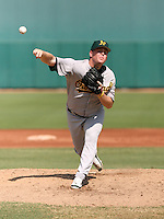 Shawn Haviland / Oakland Athletics 2008 Instructional League..Photo by:  Bill Mitchell/Four Seam Images