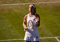 London, England, 4 July, 2019, Tennis,  Wimbledon, Kiki Bertens (NED)<br /> Photo: Henk Koster/tennisimages.com