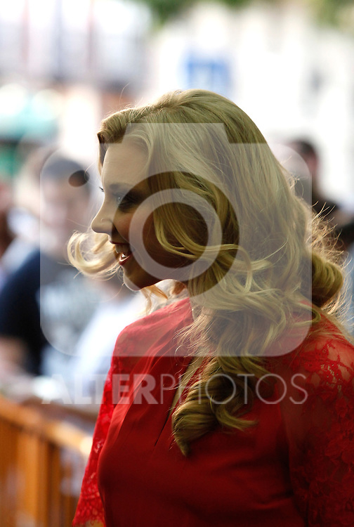 Game of Thrones actress Natalie Dormer attends and poses at photocall during the inauguration of 9th chapter from 3rd season in Palafox cinema in Madrid, Spain. June 4, 2013 (Victor J Blanco/Alterphotos)