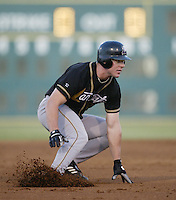 Chris Ansman of the Lancaster JetHawks runs the bases during a California League 2002 season game against the Lake Elsinore Storm at The Diamond, in Lake Elsinore, California. (Larry Goren/Four Seam Images)