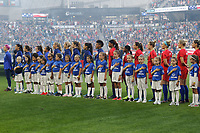 Saint Paul, MN - Tuesday September 03, 2019 : Player Honorees and USWNT prior to the USWNT 2019 Victory Tour match versus Portugal at Allianz Field, on September 03, 2019 in Saint Paul, Minnesota.