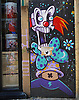 Graffiti, Shoreditch, London<br /> <br /> Stock Photo by Paddy Bergin