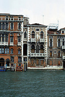 Venice:  Grand Canal--Group of houses.  Photo '83.
