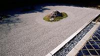 The Stone Garden at Ryoanji Temple, Kyoto, Japa