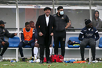 Romford manager Glenn Tamplin during Romford vs Aveley, Pitching In Ishmian League North Division Football at Mayesbrook Park on 26th September 2020